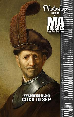 Photoshop Oil Brushes Concept Art Brushes for digital Painting Art