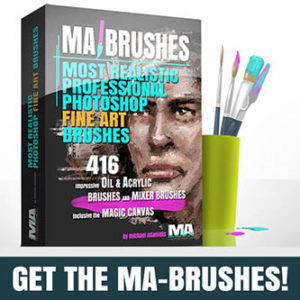 Photoshop Oil Brushes Concept Art Brushes for digital Painting Art