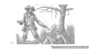 Pencil Artwork Pirates3 v2 by Michael Adamidis