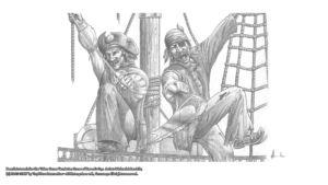 Pencil Artwork Pirates by Michael Adamidis