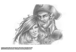 Pencil Artwork Pirates v3 by Michael Adamidis