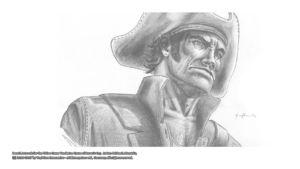 Pencil Artwork Pirates v4i by Michael Adamidis