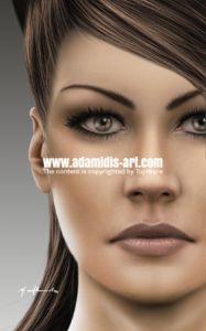 Photoshop Oil Brushes Realistic Brushes Acrylic natural Brush Pack