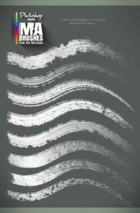 Best Photoshop Painting Brushes Oil texture brush pack acrylic cutstom Concept Art Brushes