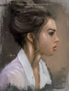 Best realistic Photoshop Painting Brushes Portrait Oil Brushes MABrushes web