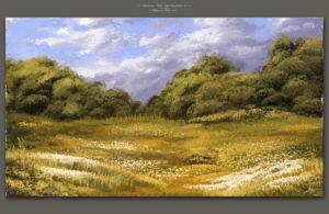 Late Summer by Michael Adamidis Digital Art Fine Art Oil MA-Brushes for Photoshop Landscape Scenery Wallpaper