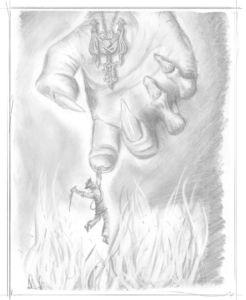 Pencil Artwork Pirates v5i by Michael Adamidis