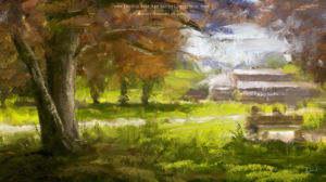Photoshop Brushes for Painting with Oil Texture Concept Art Port Michael Adamidis
