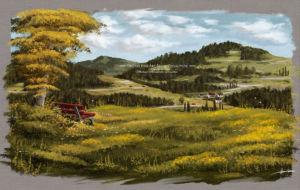 Photoshop Landscape Painting Oil Texture Brushes - Enzklsterle Michael Adamidis