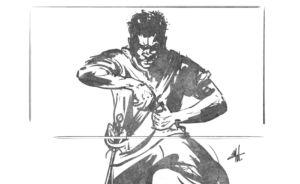 Sketch Pirate Concept Art by Michael Adamidis